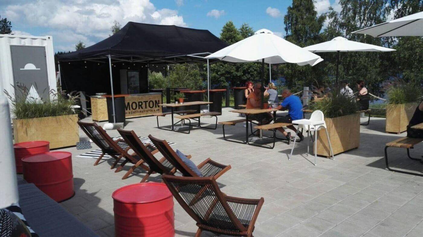 Konttiravintolaa laajennettu Keitelejazz-viikonlopuksi