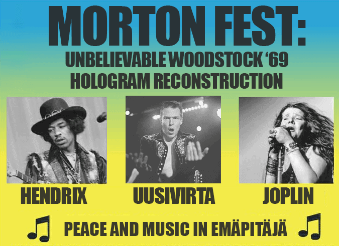 Morton Fest - Woodstock special