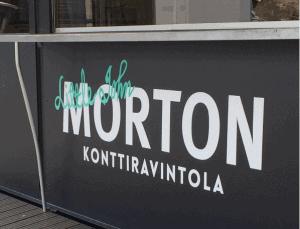 Kuopion Konttiravintola on väritykseltään tumma