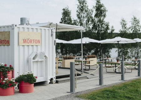 """Konttiravintola Morton, """"Little Aaron"""", Äänekoski"""