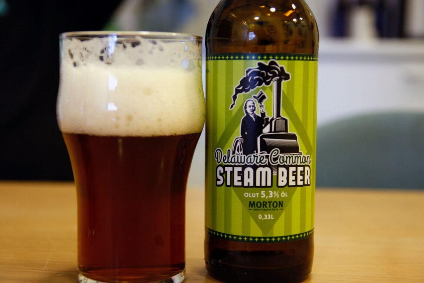 Morton Steam Beer 2016 - Delaware Common