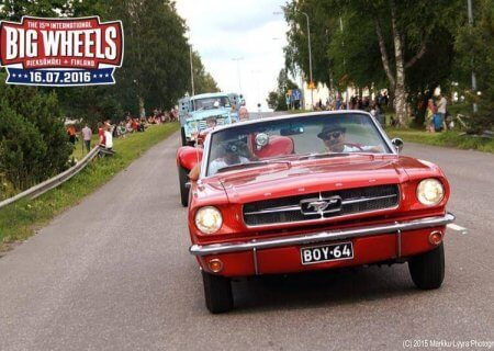 Big Wheels Pieksämäellä 16.7.2016. Kuva: Markku Lyyra