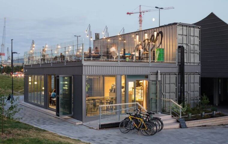 Morton avaa ympärivuotisen Konttiravintolan Helsinkiin